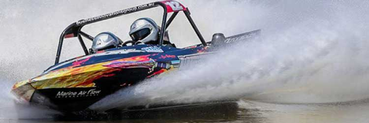 V8 Superboat adrenaline rush with Warren & Brown Precision Tools to power Weapon Racing in 2018