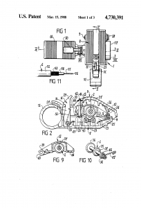 US4730391-1 US patent Stripping tool